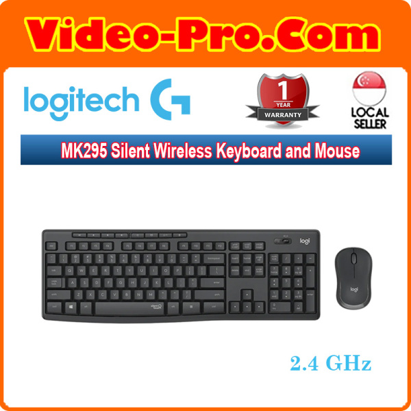 Logitech MK295 Silent Wireless Keyboard and Mouse Combo 920-009814 Singapore