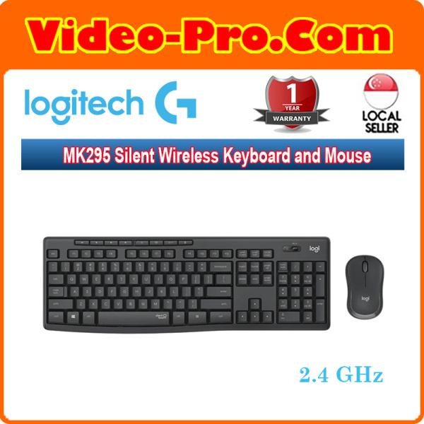 Logitech MK295 Silent Wireless Keyboard and Mouse Combo 920-009814 Singapore