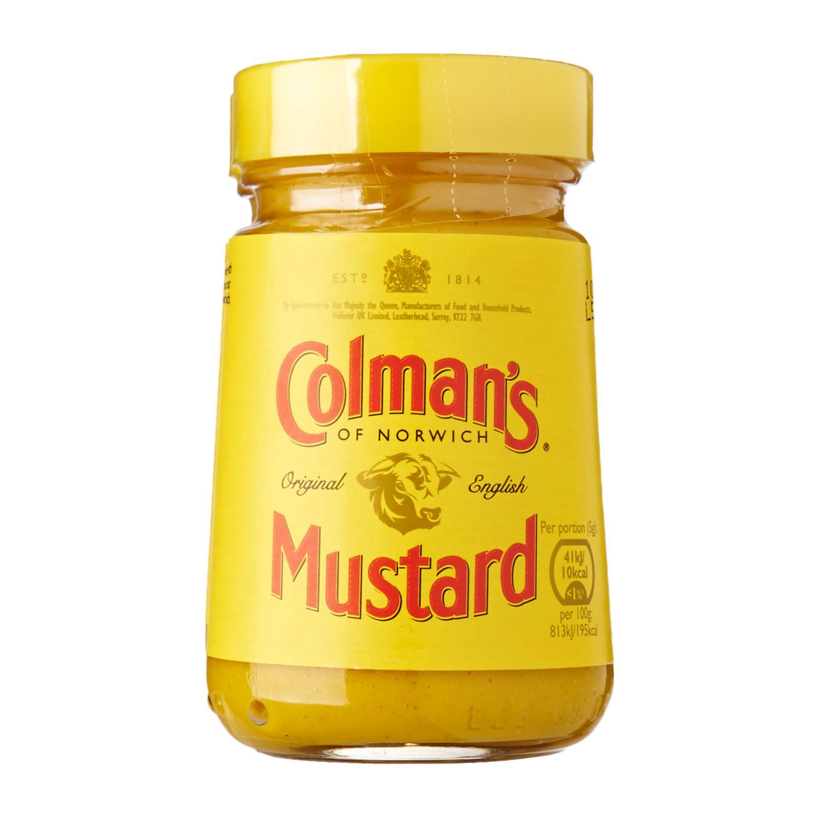 Colmans Original English Mustard By Redmart.