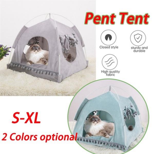 GA27524 Mềm S-XL Trong Nhà Cún Yêu Chứa Mat , Với Đệm Mùa Hè Ngoài Trời Thú Cưng Nhà Ngủ Cho Mèo Đồng Thú Cưng Nhà Mèo Con