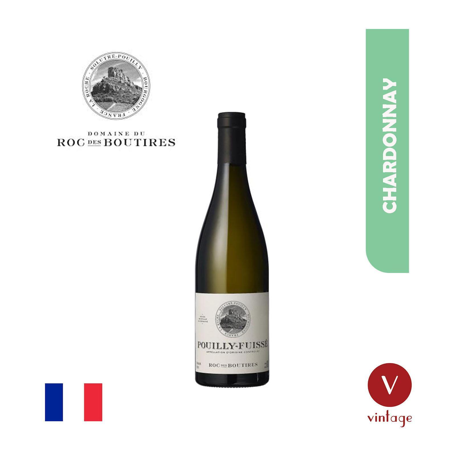 Domaine du Roc des Boutires Domaine Roc des Boutires - Pouilly Fuisse - White Wine
