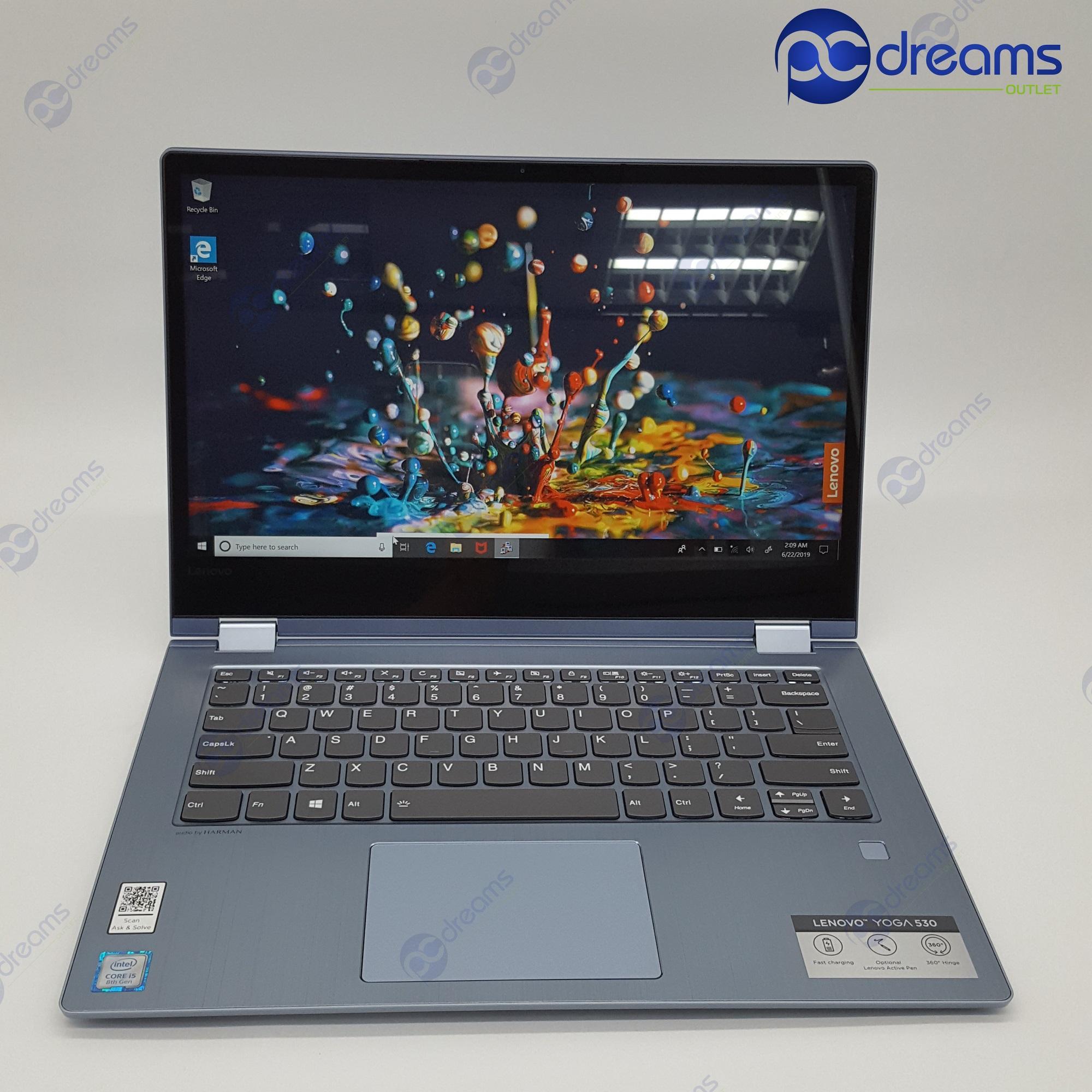 LENOVO YOGA 530-14IKB (81EK009CSB) i5-8250U/8GB/512GB PCIe SSD [Premium Refreshed]