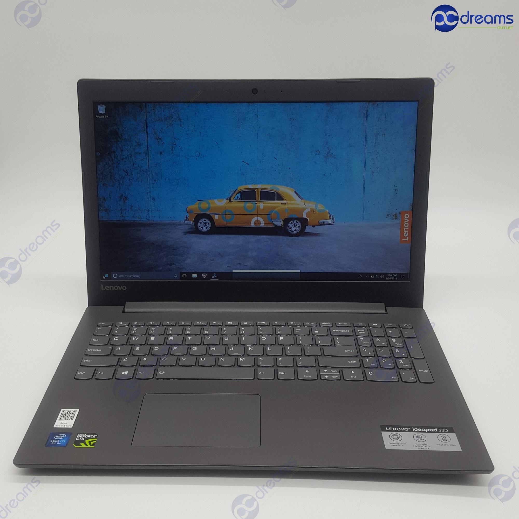 LENOVO IDEAPAD 330-15ICH (81FK001TSB) i7-8750H/8GB/256GB SSD+1TB HDD/GTX1050 [Premium Refreshed]