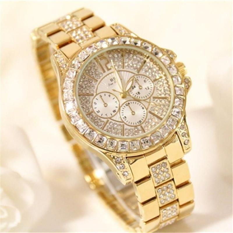 Bs Women Brand Fashion Luxury Diamond Dress Wristwatches Multicolor Ladies Classic Quartz Watches By Lightinginchina.