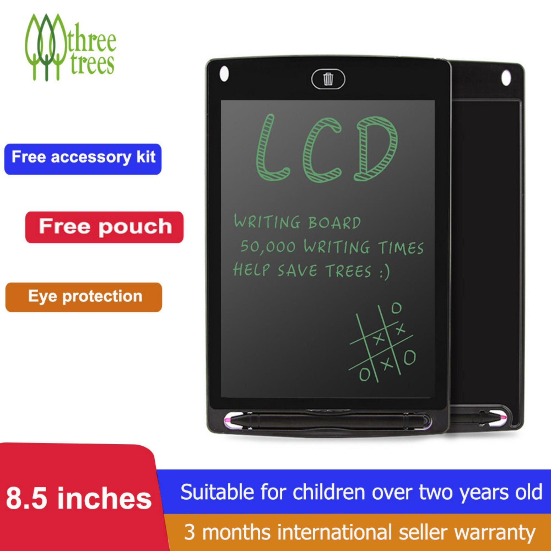 Threetrees 8.5 Inch LCD Writing Tablet With Carring Pouch And Accessory Kit,Digtal Graphic Drawing board,Drawing and Writing Board For Kids and Aduts