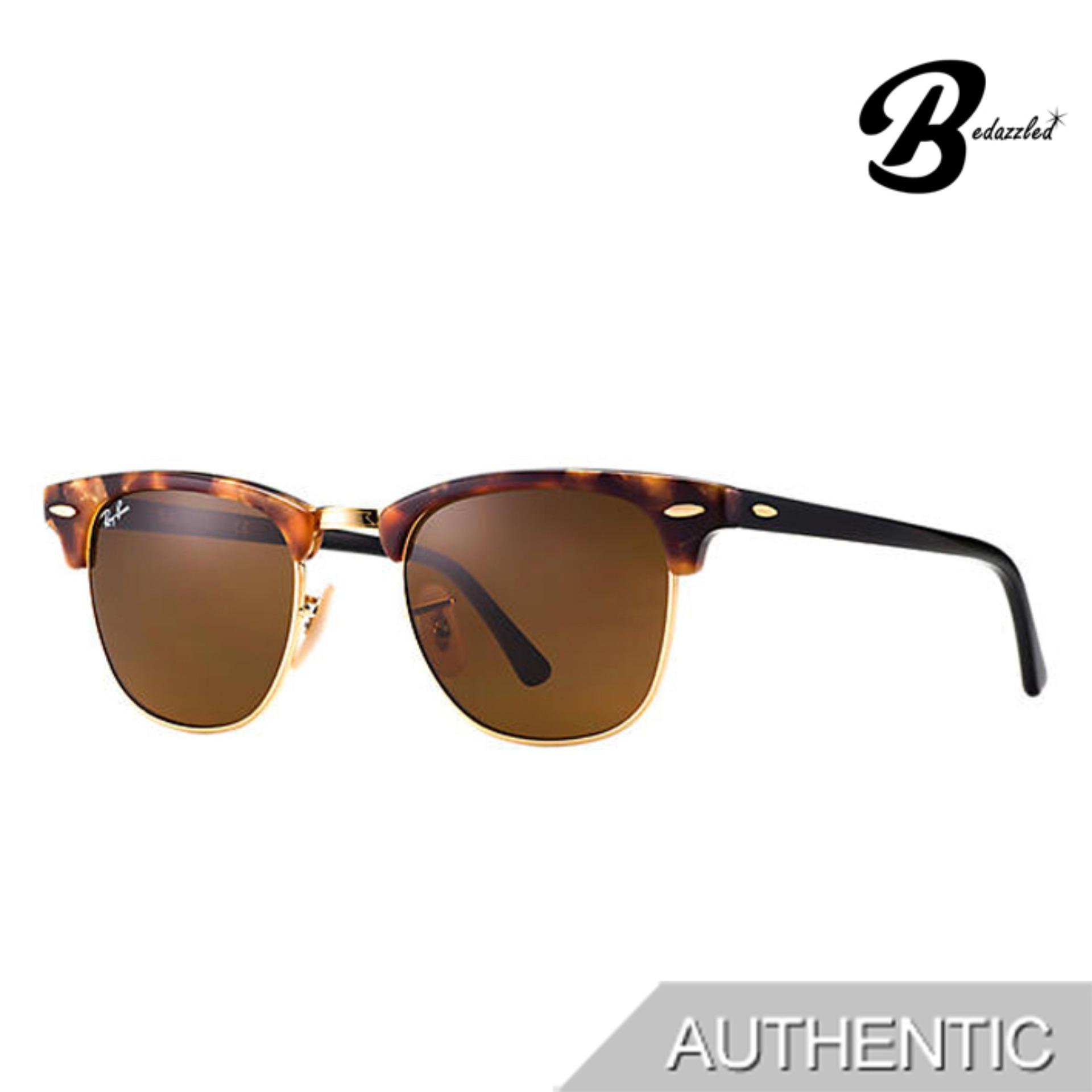 Ray-Ban Clubmaster Fleck Rb3016116051 By Bedazzled.