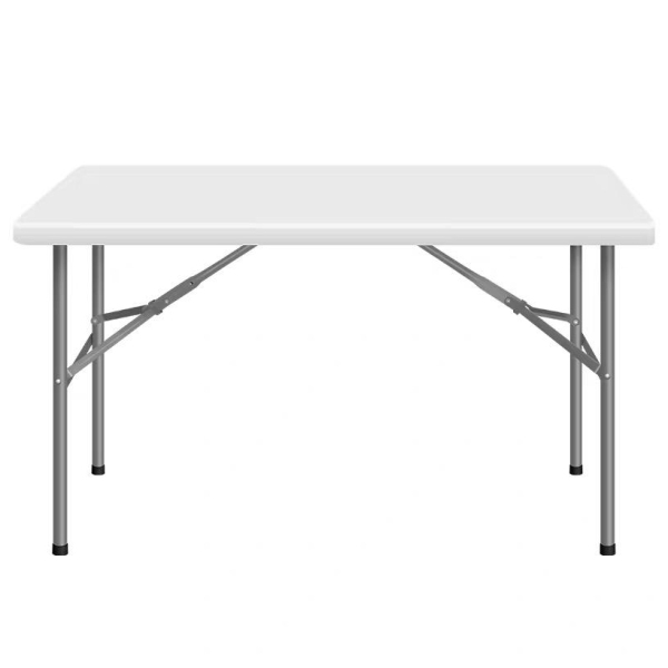 Foldable White Table / Folding Table / home room office commercial computer study picnic camping party worship pray desk