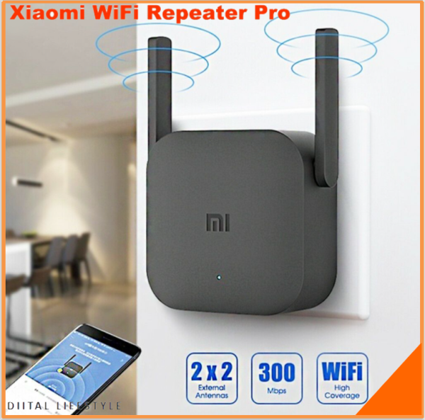 Xiaomi WiFi Amplifier Pro 2.4G Wireless Repeater 300Mbps Extender Singapore