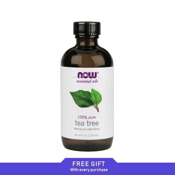 Now Foods, Essential Oils, Tea Tree, 4 fl oz (118 ml)