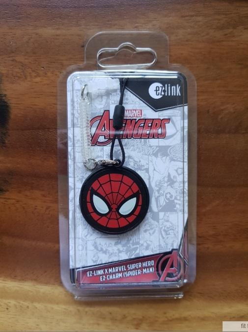 Spider Man ezlink charm
