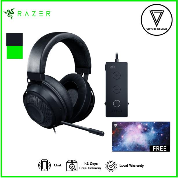 Razer Kraken Tournament Edition - Wired Gaming Headset with USB Audio Controller