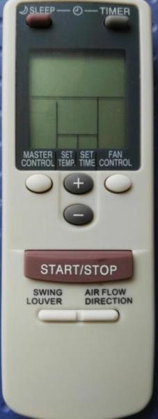 Haoeryi Fujitsu General ASG12ASE-W Remote Control