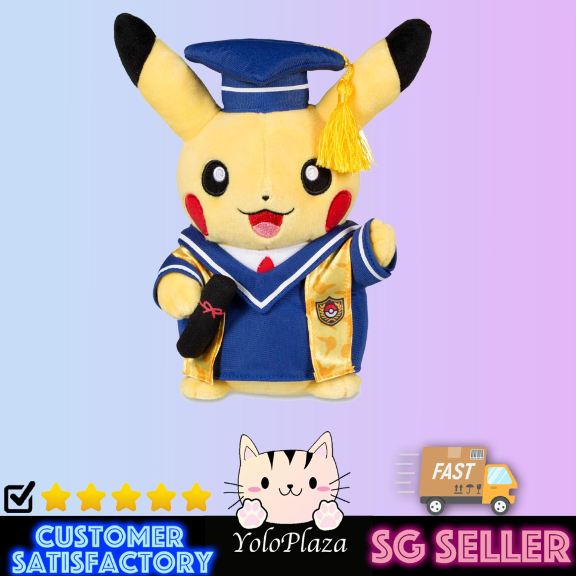 bd965b759 Pikachu Graduation Soft Toy (Official Pokemon Center)