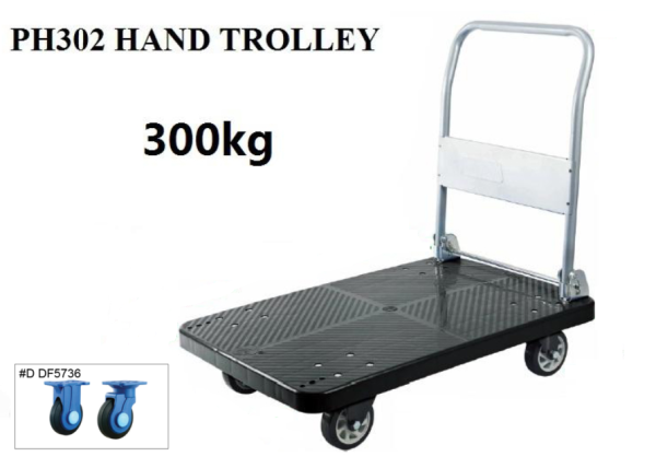 Hand Trolley Load Weight 300kg