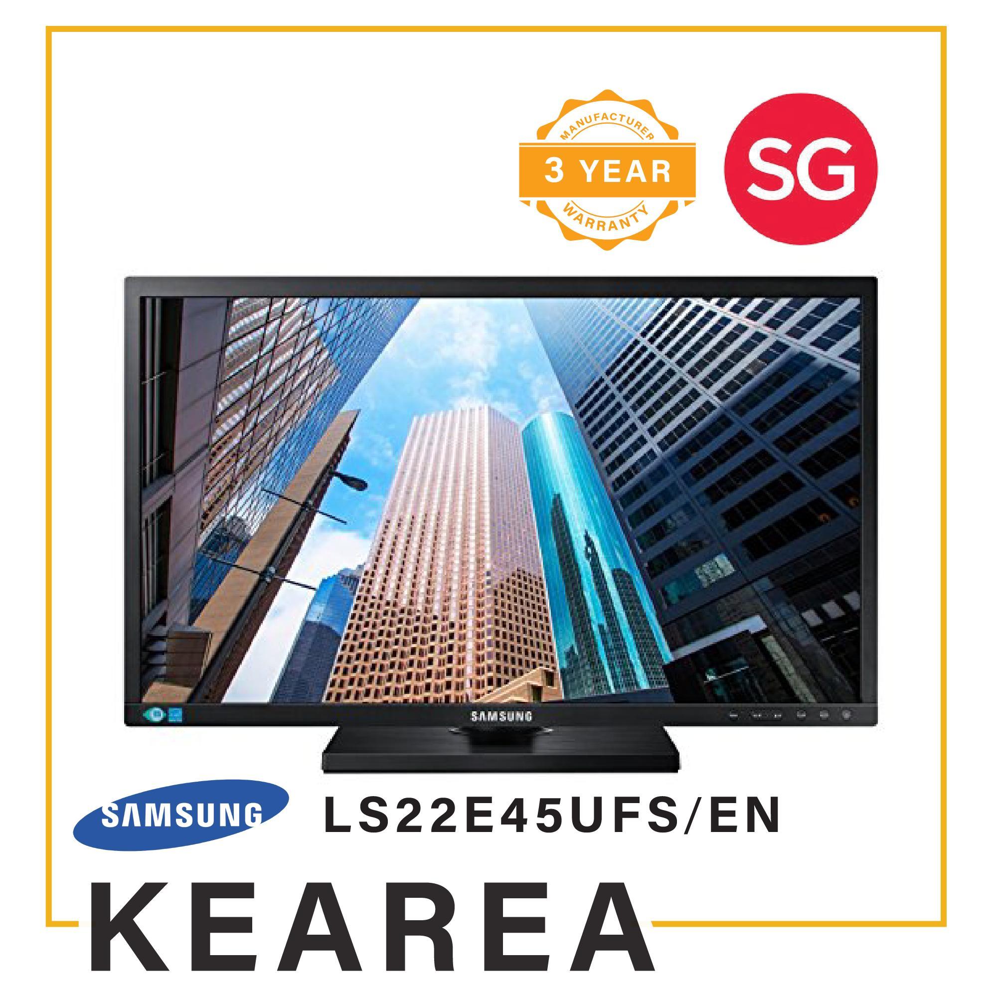 Samsung LS22E45UFS/EN Computer Monitor (Local Manufacturer Warranty - 3 Years)
