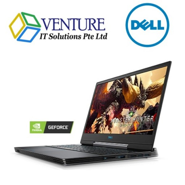 Dell Gaming G5- 6GB Nvidia RTX2060/15.6inch  FHD (1920 x 1080) /Intel® Core™ i7-9750H (12MB Cache, up to 4.5 GHz, 6 cores)16GB DDR4 / 128GB SSD OR 512GB SSD(Optional) /Win 10 /2yrs Dell Onsite warranty