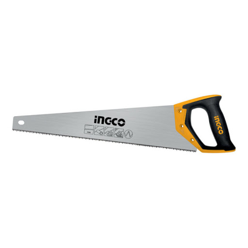 INGCO I-HHAS08500 Hand saw Length: 500mm, Thickness:0.9mm, 7TPI