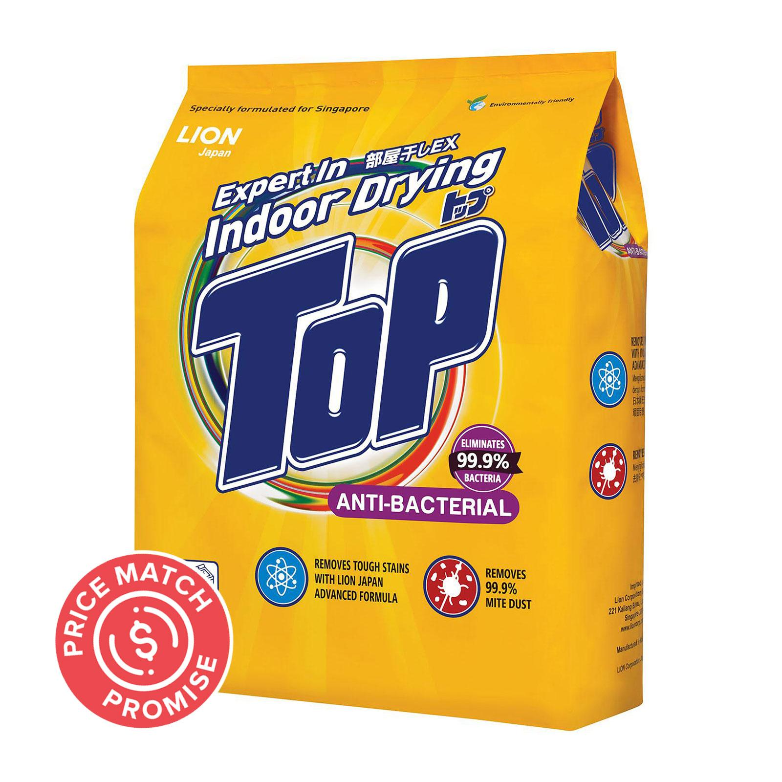 TOP Powder Detergent - Anti-Bacterial 2.5kg