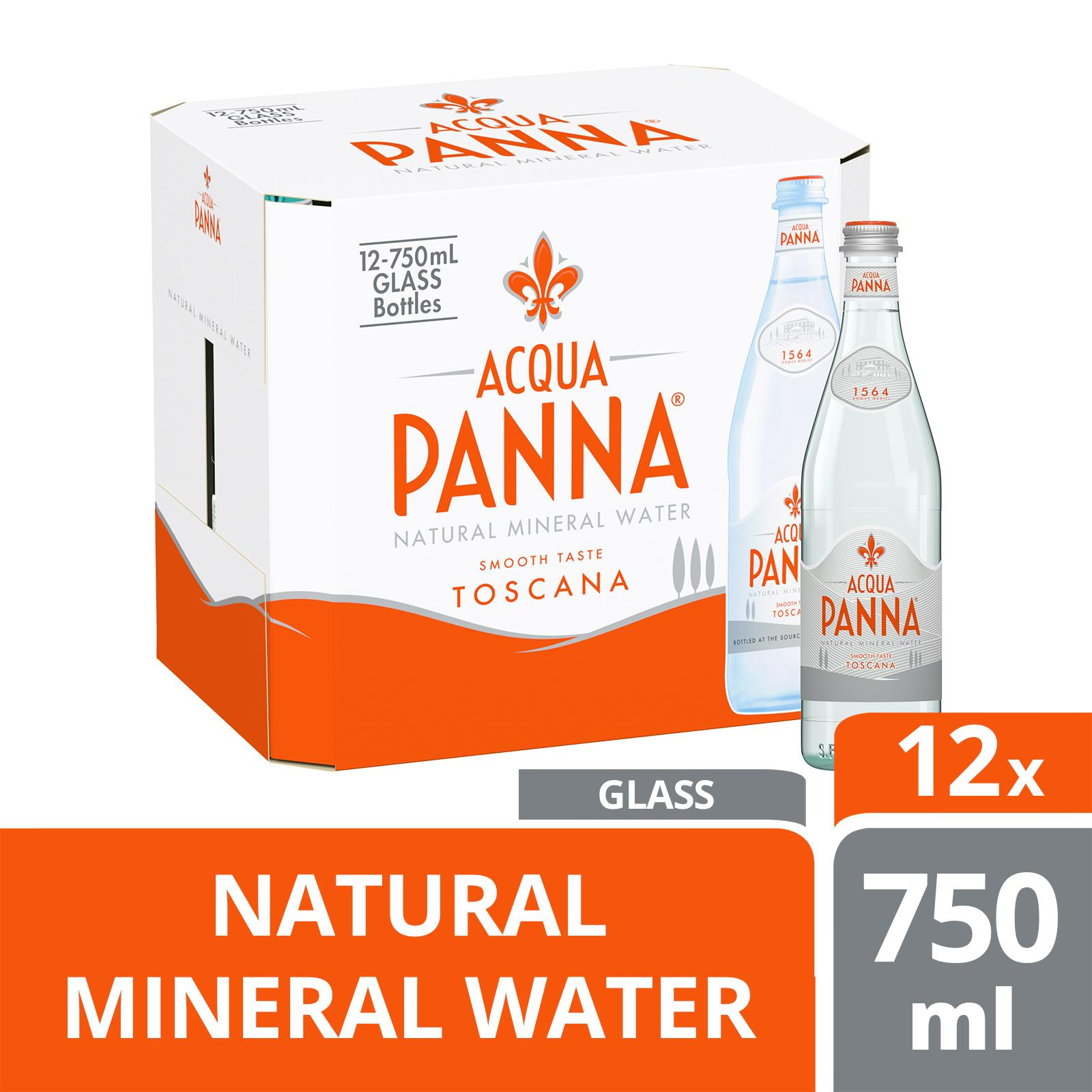 Acqua Panna Natural Mineral Water - Case