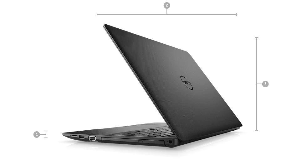 New Arrival Dell Vostro 15 - 3580 LaptopIntel Core 8th Generation i3-8145U Processor (Dual Core, up to 3.90GHz, 4MB Cache, 15W)4GB (1X4GB) 2666MHz DDR4 Non-ECC1TB SATA 512e 2.5inch Hard Disk Drive (5400RPM)Intel UHD GraphicsWindows 10 Pro8X DVD+/-RW