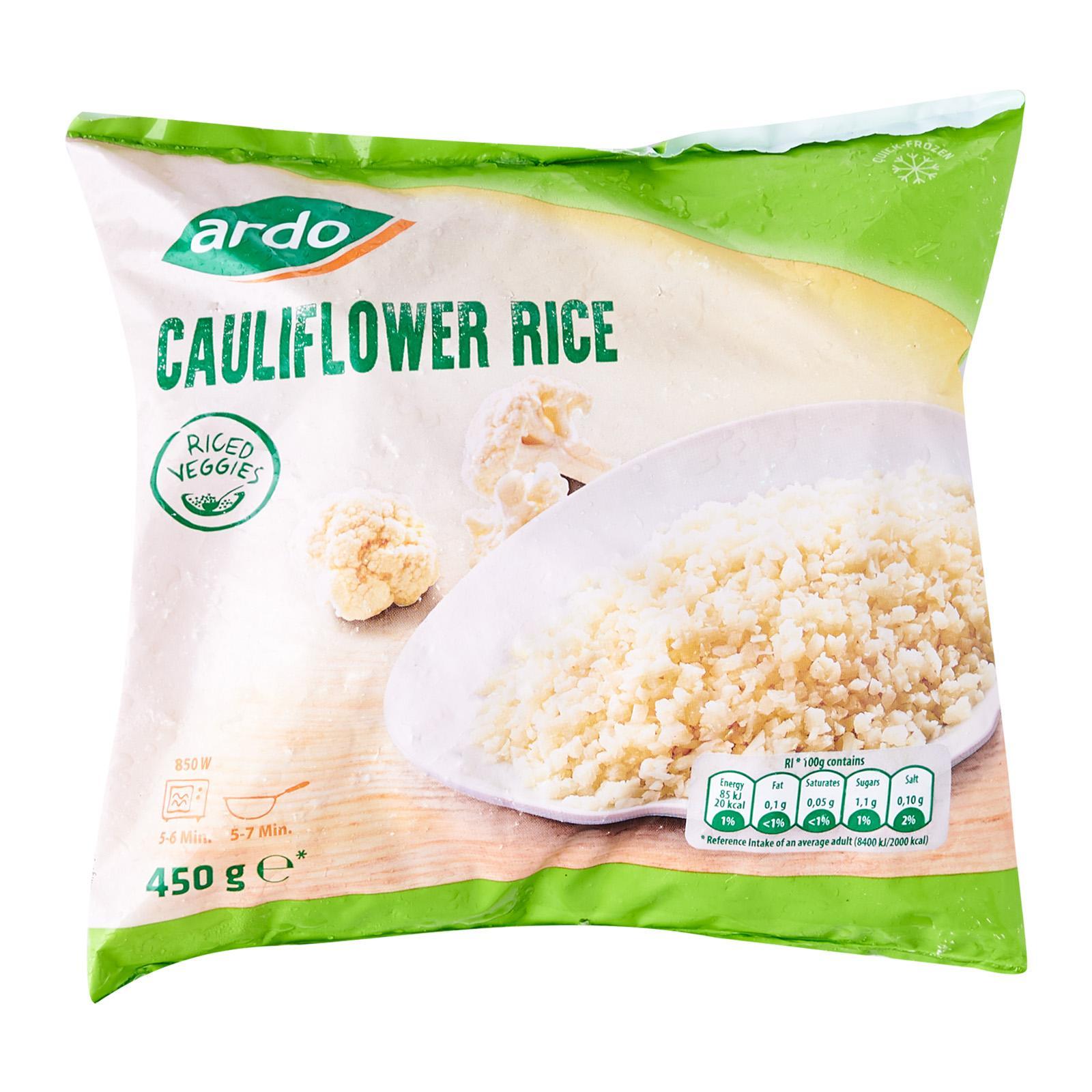 ARDO Cauliflower Rice - Frozen