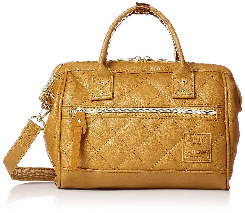 anello  Original Japan shoulder bag (NEW 2019 QUILTED FAUX LEATHER Boston  Mini) 5997603cba4de