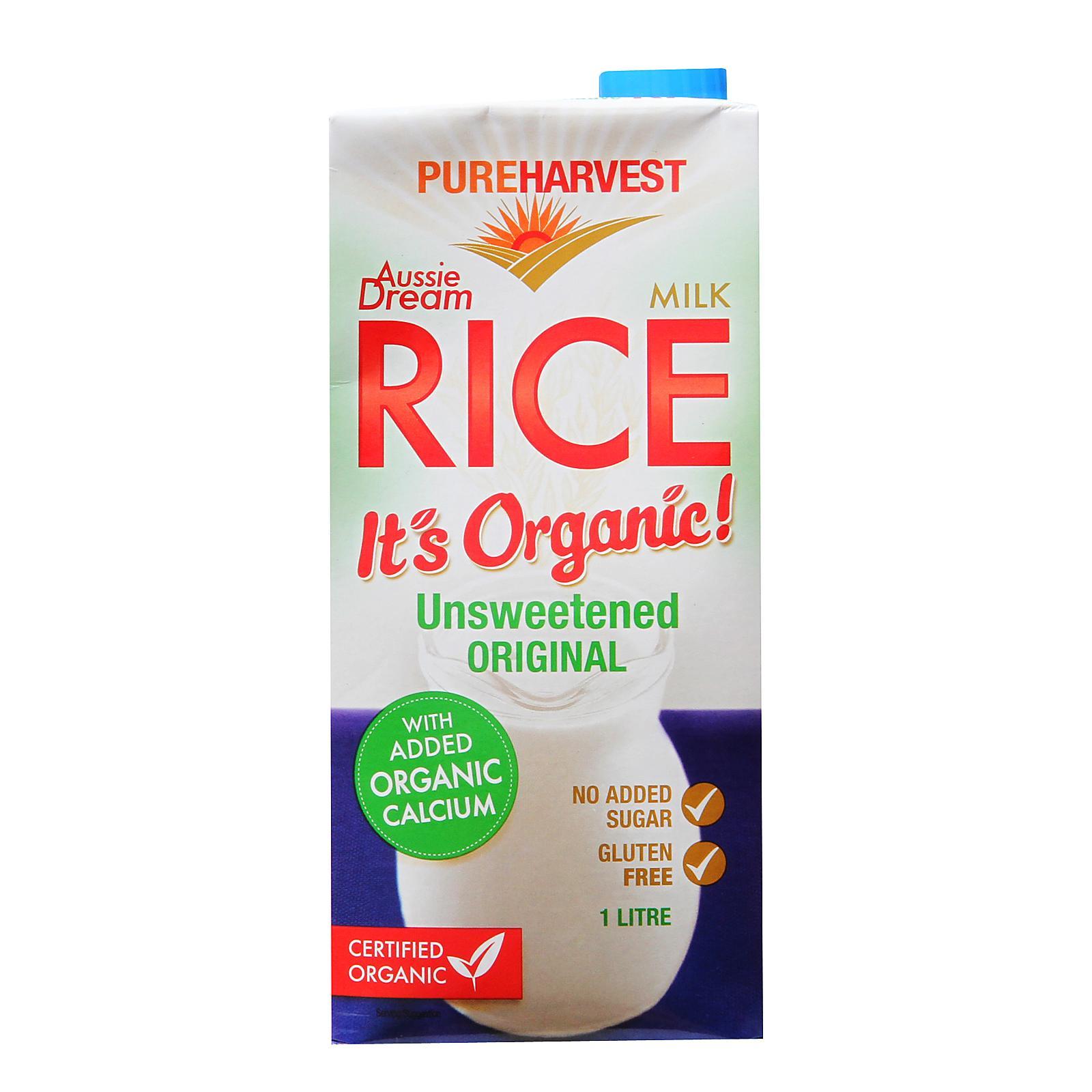 Pureharvest Organic Aussie Dream Enriched with Calcium Rice Milk