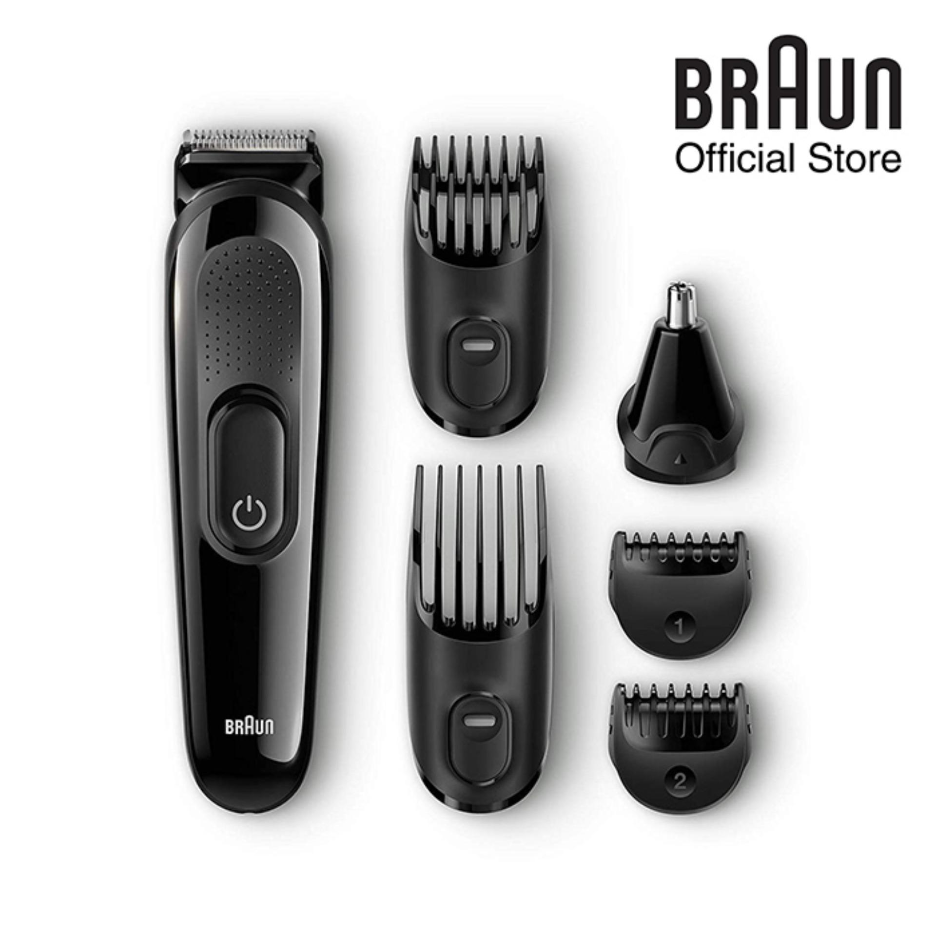 Braun Multi Grooming Kit Mgk 3020 – 6-In-1 Beard / Hair Trimmer By Braun Official Store.