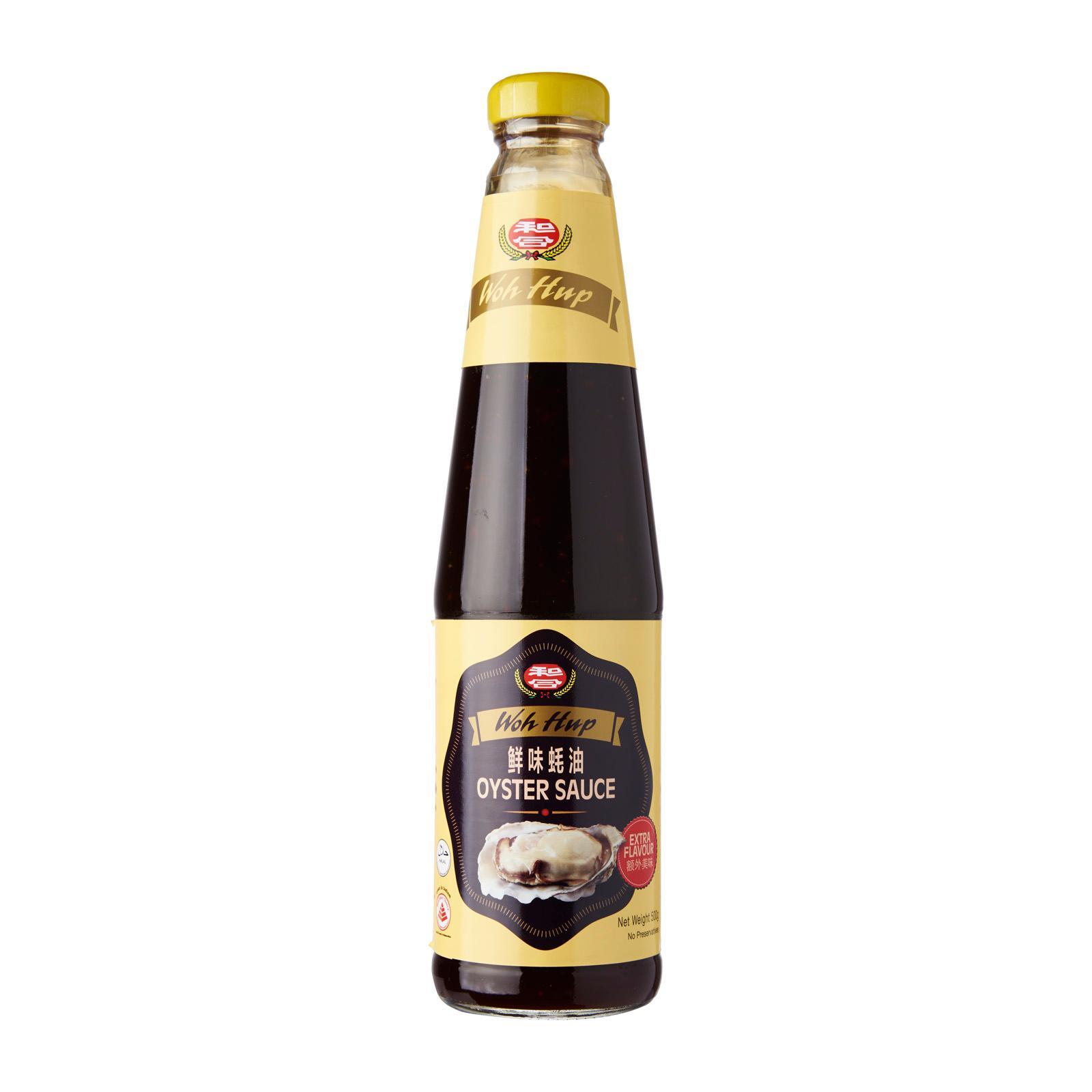 WOH HUP Oyster Sauce Extra Flavour 500g