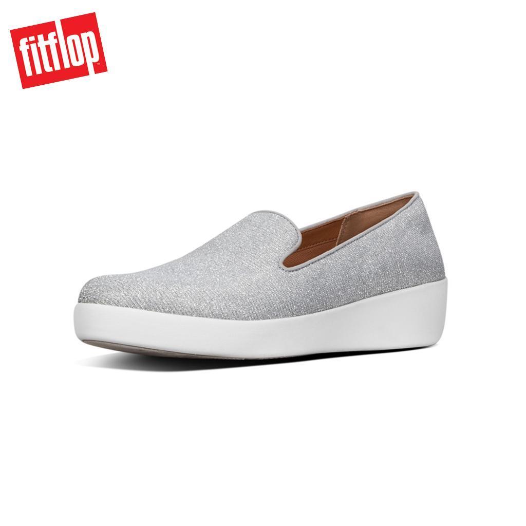 2636ba16a Fitflop™ Audrey Glitzy Silver Women Loafer