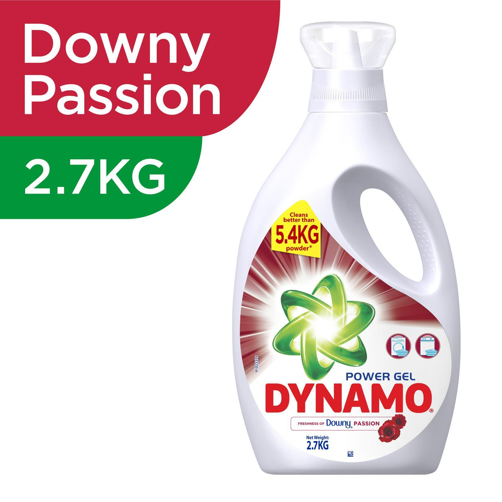 Dynamo Power Gel Freshness of Downy Laundry Detergent