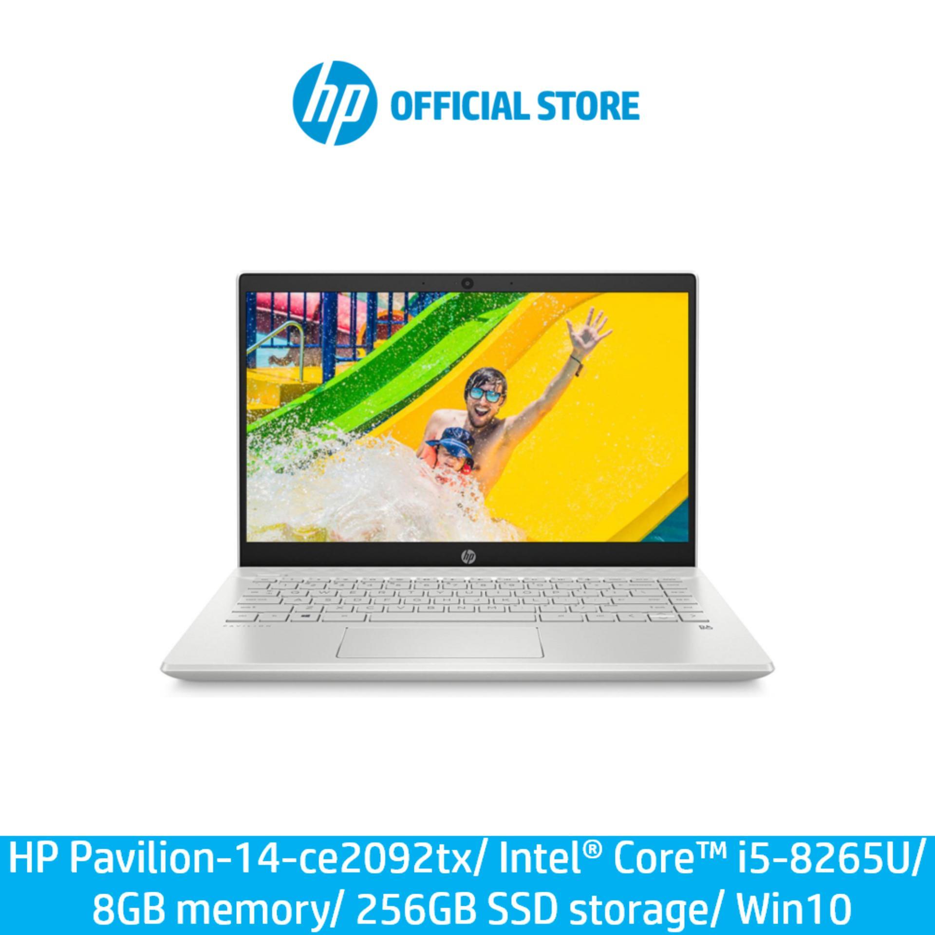 HP Pavilion - 14-ce2092tx/ Intel® Core™ i5-8265U/ 8 GB memory/ 256 GB SSD storage/ Win10