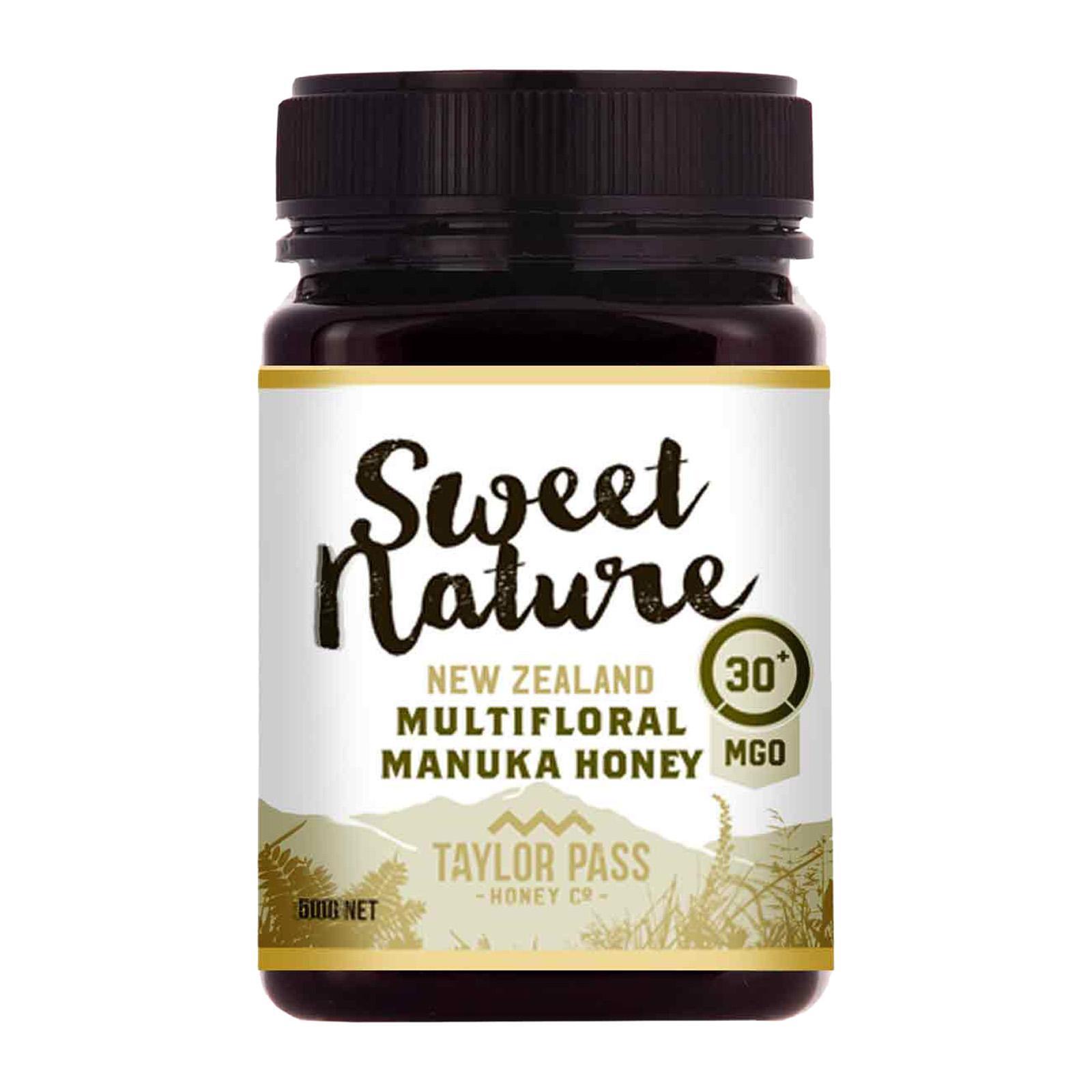 Sweet Nature Multifloral Manuka Honey MGO 30+
