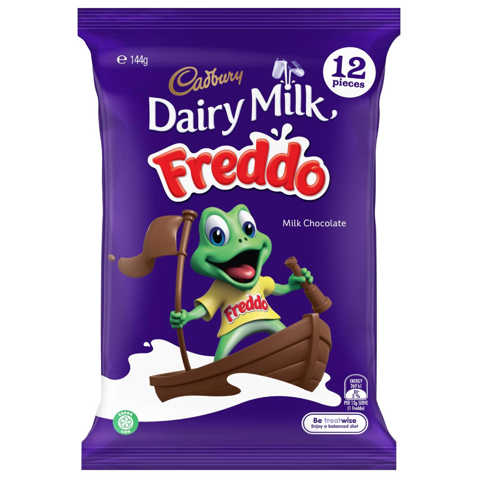 Cadbury Dairy Milk Freddo Milk Chocolate Multipack