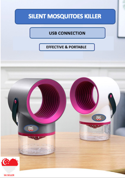 (SG SELLER) Mosquito Killer Lamp Bedroom Living Room Kitchen Outdoor Mosquito Killer USB Cable Portable 2020 New Model