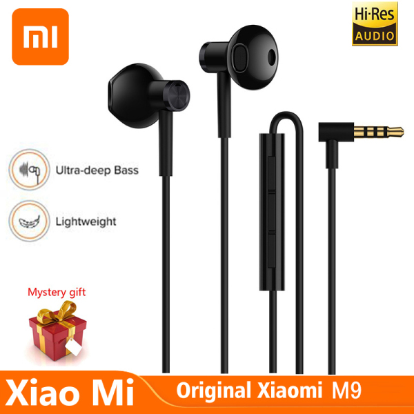 Xiaomi Mi Hybrid Pro HD 2 Earphone In-Ear Earphone Wired Control Dual Driver With MIC For Redmi 8 8a K30 K20 Pro Note 8 8t 8pro Singapore