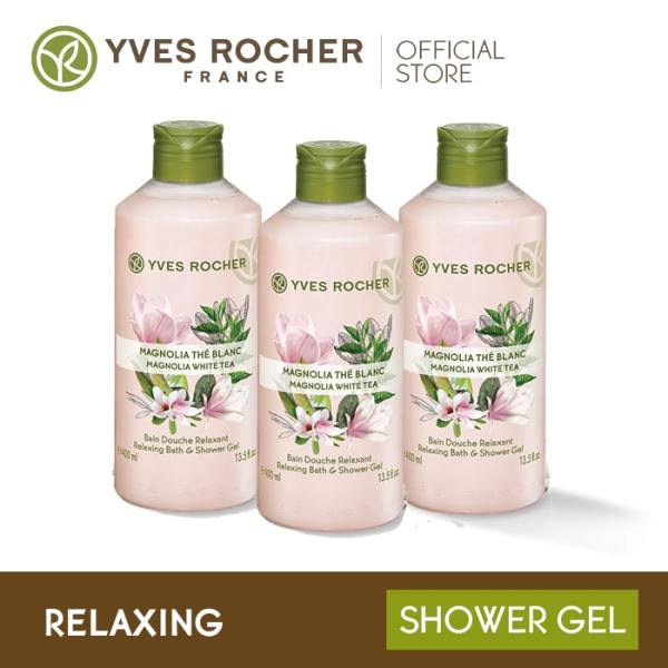 Buy Yves Rocher Relaxing Magnolia White Tea Shower Gel Gift Set Singapore
