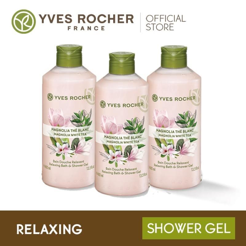 Buy Yves Rocher Relaxing Magnolia White Tea Shower Gel Gift Set Singapore
