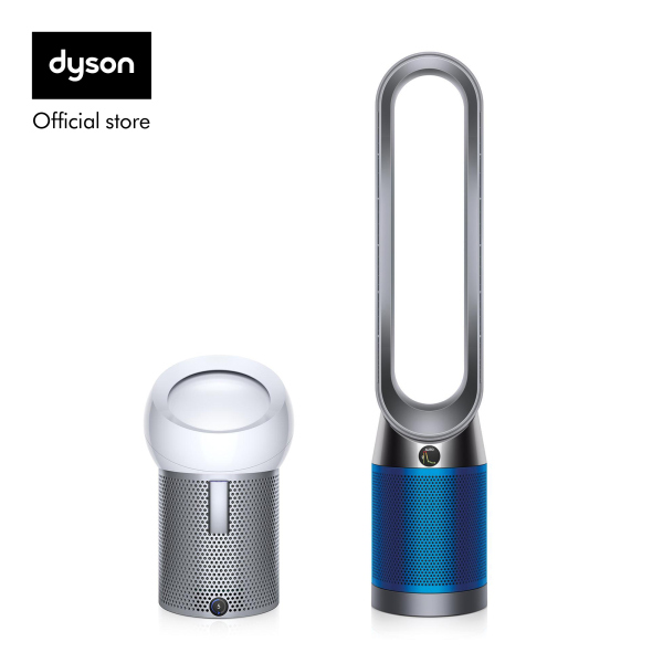 Dyson Pure Cool™ TP04 Air Purifier Tower Fan Iron Blue with Pure Cool Me™ Personal Air Purifier Fan White Silver worth $499 Singapore