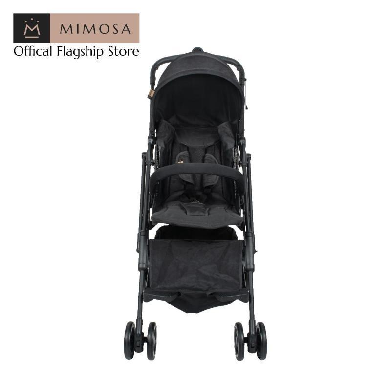 Mimosa Cabin City+ Backpack Stroller -- Jet Set Black (Mesh) Singapore