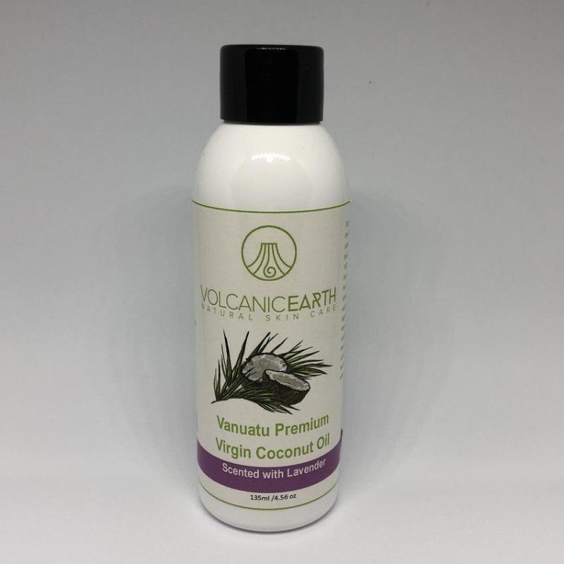 Buy Volcanic Earth Premium Virgin Coconut Oil, Lavender Scented, 135ml Singapore