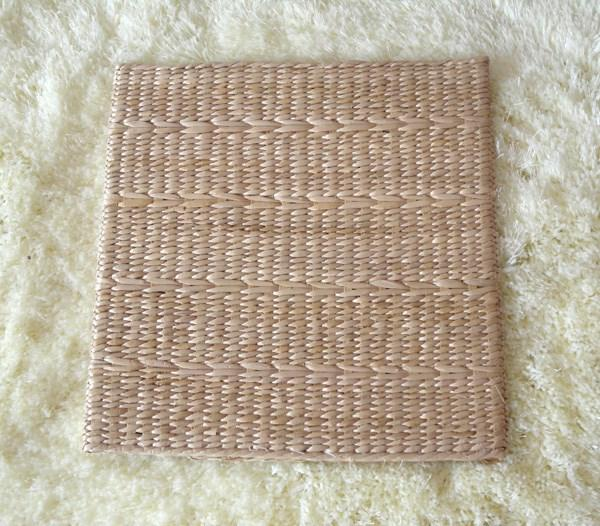 Rattan Straw Wicker Weavings Futon throw pillow Mat Pad Straw/Hand Knitted Papyrus Boutique Square throw pillow