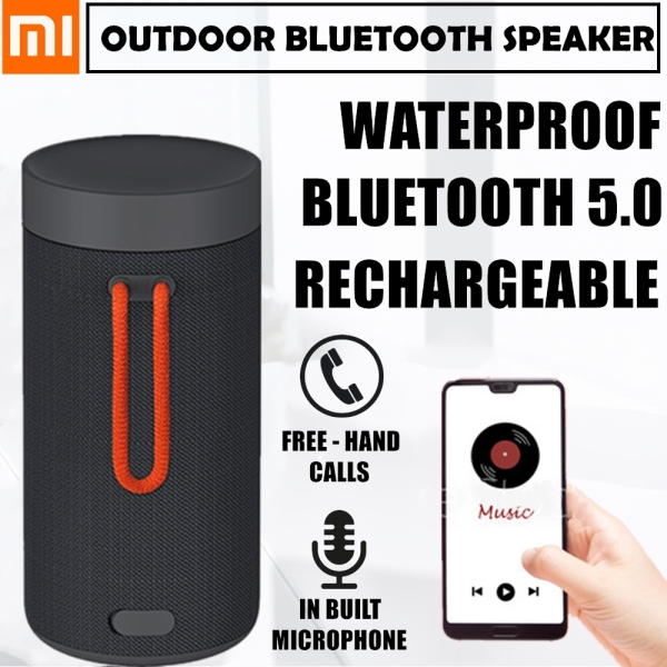 Xiaomi Outdoor Bluetooth 5.0 Speaker Wireless Speaker Waterproof Speaker Portable Sports Speaker Singapore