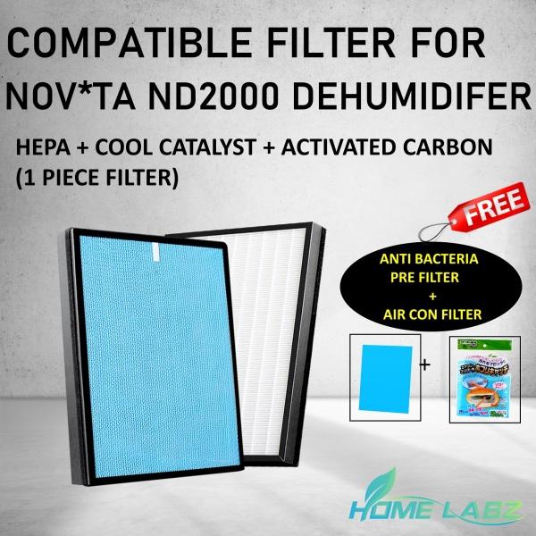 NOV*TA ND2000 Dehumidifier Compatible Filter Singapore