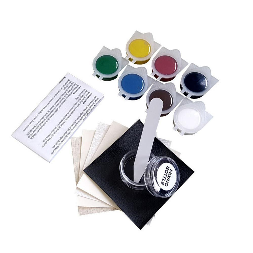 Leather and Vinyl Repair Kit Restorer of Your Couch Car Seats  Sofas Handbags