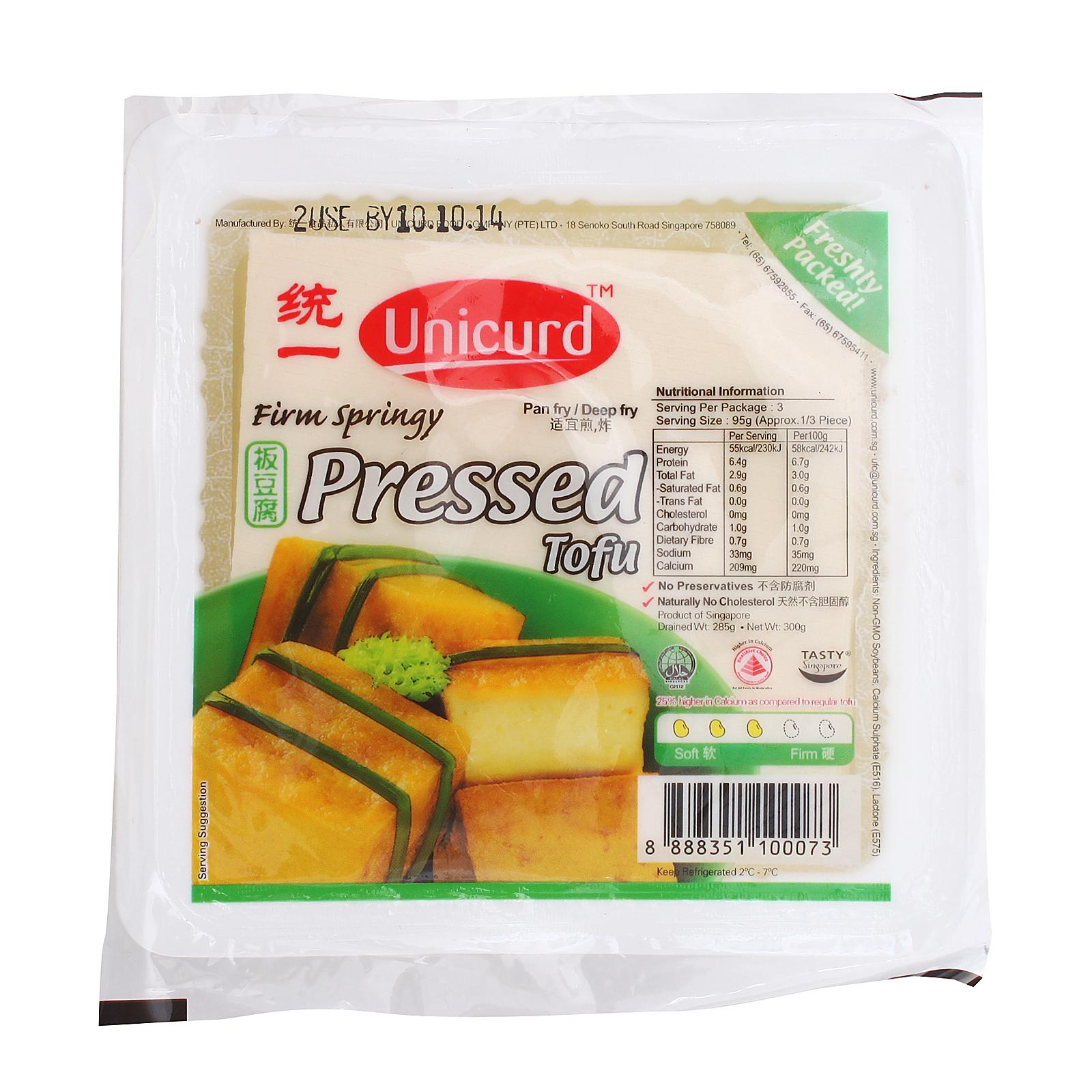 UNICURD Tofu Pressed 300g