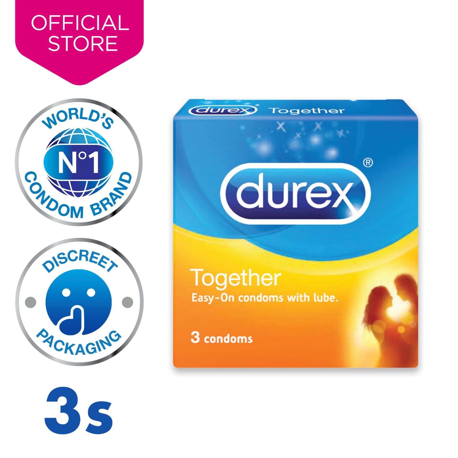 Durex Together Condoms X3 By Durex.