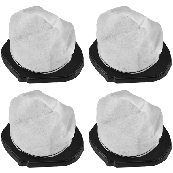 4 Pack Dust Cup Filters for Shark Cordless Hand Vac SV780 SV75Z, Replacement Part XSB726N