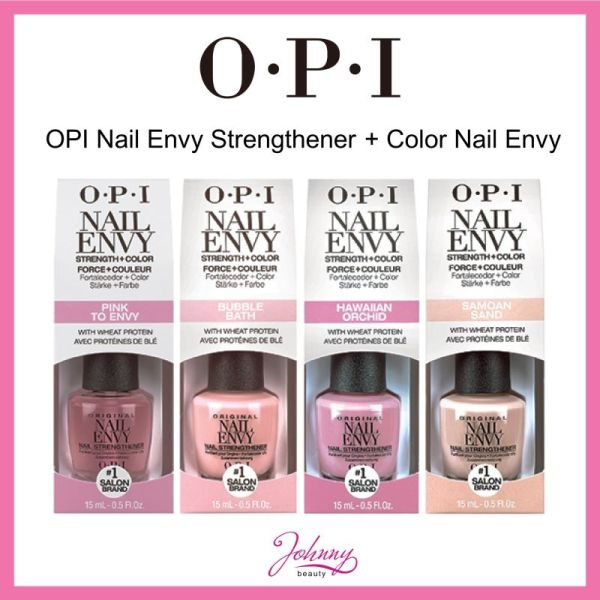 Buy OPI Nail Envy Nail Strengthener- OPI Nail Envy Treatment Strength + Color 2-in-1 | FOR BEAUTY SKIN CARE Singapore