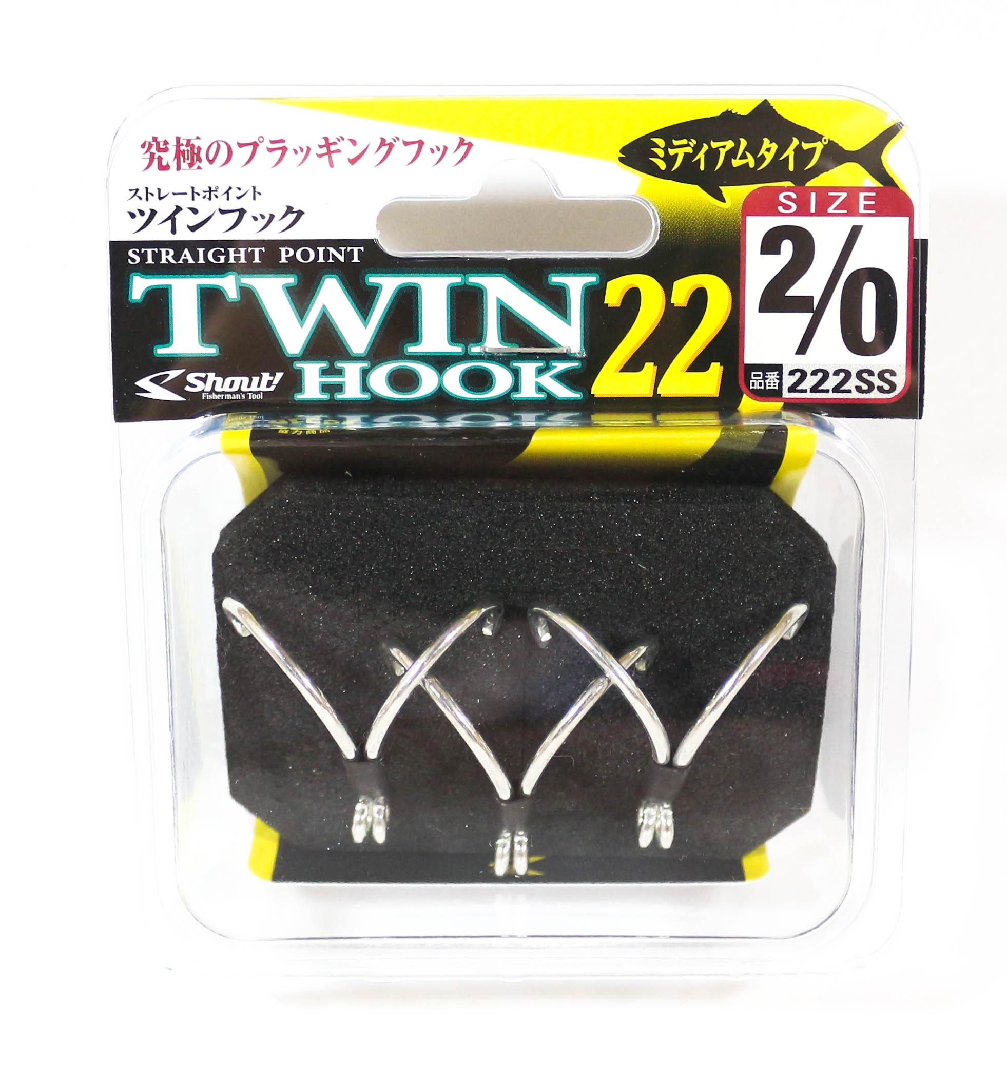 Shout 42-DA Double Barb Assist Hook Rigged Size 4//0 5812